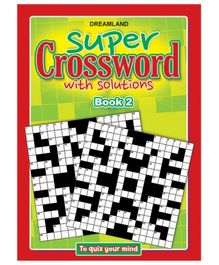 Dreamland Publication Super Crossword 2 - English