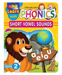 Dreamland Publication Learn With Phonics Book 2 - English