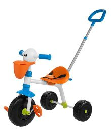 Chicco Pelican Tricycle With Push Handle - Multicolor