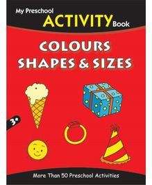 Pegasus Activity Book Colours Shapes And Sizes - English