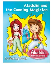 Pegasus Coloring Book Aladdin And The Cunning Magician - English