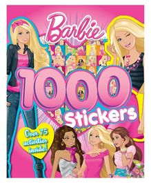 Parragon Barbie 1000 Stickers - English