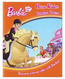 Parragon Barbie I Can Be Horserider Sticker Book - English