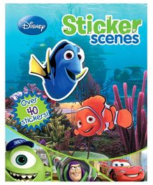 Parragon Disney Pixar Sticker Book - English