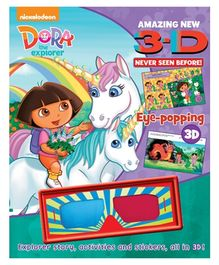 Parragon Dora the Explorer 3D Story and Activity Book - English