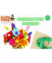 Crafty Chimp Chenille Stem Bouquet