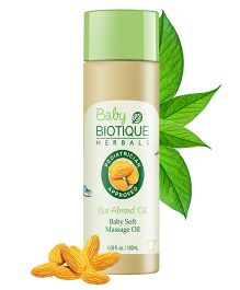 Biotique Bio Almond Baby Soft Massage Oil - 120 ml