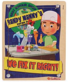 Eichhron Handy Manny Puzzle - 16 Pieces