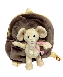 Soft Buddies Elephant School Bag