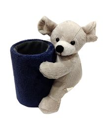 Soft Buddies Mouse Pen Stand - Grey