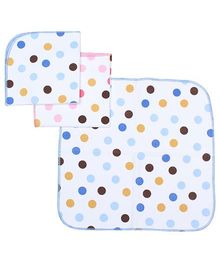 Sapphire Face Napkin Large - Set of 3