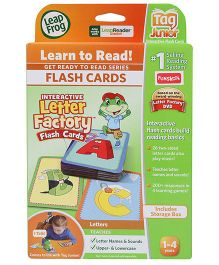 Leap Frog Tag Junior Flash Cards - Interactive Letter Factory
