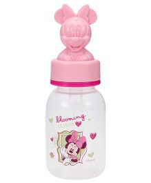Disney Baby Round Feeding Bottle With Minnie Hood - 125 ml