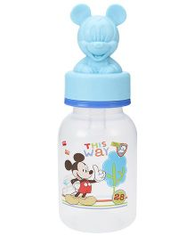 Disney Baby Round Feeding Bottle With Mickey Hood - 125 ml