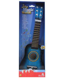 Simba Wooden Guitar - Blue
