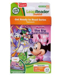 Leap Frog LeapReader Junior Get Ready to Learn Series - Minnie Mouse