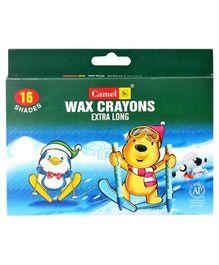 Camel Wax Crayons - 16 Shades