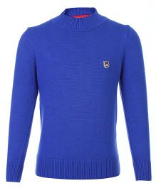 Noddy Full Sleeve Pull Over Sweater - Royal Blue