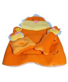 1st Step Lion Bed Set - Orange