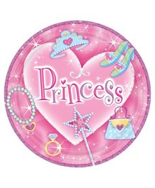 Wanna Party Princess Prismatic Plate - Set of 8