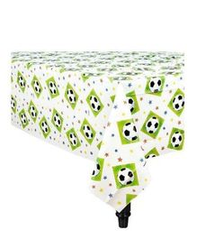 Wanna Party Soccer Party Plastic Table Cover