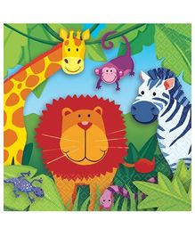 Beverage Napkins Jungle Animal