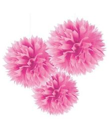 Wanna Party Fluffy Decoration - Pink