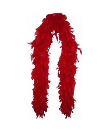 Wanna Party Feather Boa - Red
