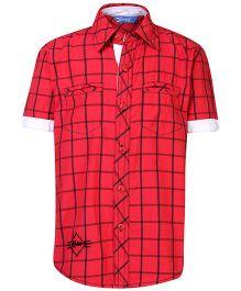 Dreamszone Shirt Half Sleeves - Checks Theme