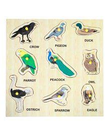Dealbindaas Wooden Puzzle - Birds