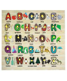 Dealbindaas Wooden Puzzle- Alphabets