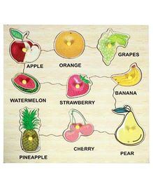 Dealbindaas Wooden Puzzle - Fruits