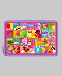 ABC's Girl Placemats - Pink