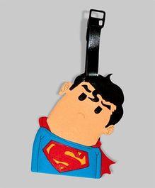 Superhero Superman Luggage Tag