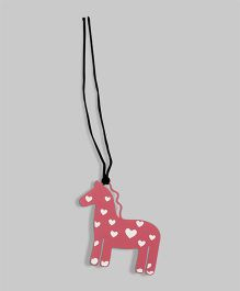 Pink Horse Bookmark