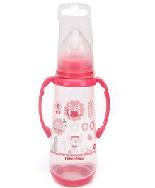 Fisher Price Feeding Bottle With Silicone Teat And Handles - 250 ml