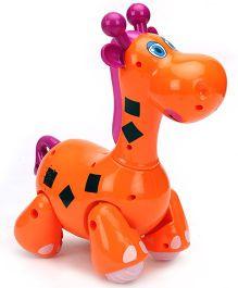 Mitashi Skykidz Jungle Rumble Giraffe - Orange
