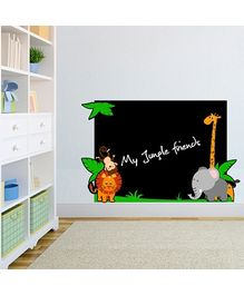 Chipakk Jungle Theme Chalkboard Decal
