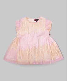 MistyRose Pink Gathered Dress