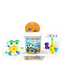 Waba Fun Superstructs Arc-A-Teks Earth - 41 Pieces