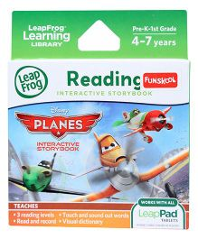 Leap Frog Reding Interactive Story Book - Planes