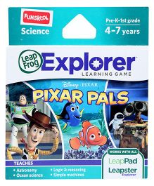 Leap Frog Pixar Pals Learning Game - Science