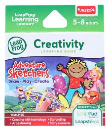 Leap Frog Adventure Sketchers - Creativity Learning Game