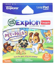 Leap Frog Explorer Learning Game - Pet Pals 2