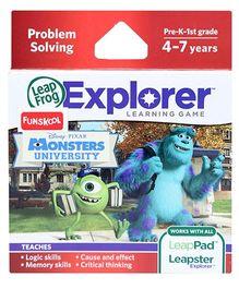 Leap Frog Explorer Learning Game - Disney Pixars Monsters University