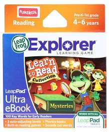 Leap Frog Explorer Learning Game - Mysteries Ultra eBook