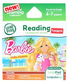 Leap Frog Reading Learning Game - Barbie Malibu Mysteries
