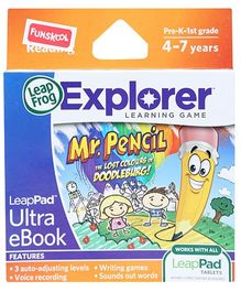 Leap Frog Explorer Learning Game - Mr. Pencil Ultra eBook