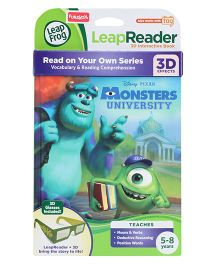 Leap Frog Disney Pixar Monsters University 3D