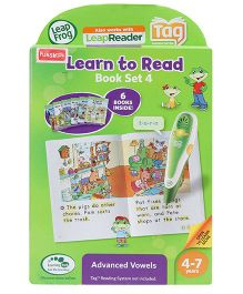 Leap Frog Tag Book Learn To Read Advanced - Volume 4